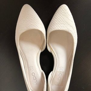 ALDO D'orsay Flats in Leather